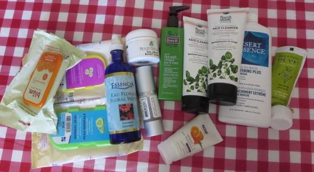 produits d'hygiène et cosmétiques terminés
