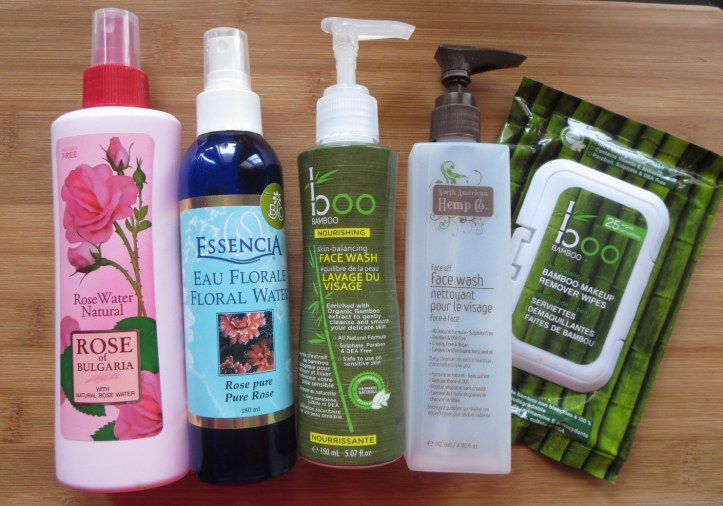 nettoyants visages et lotions